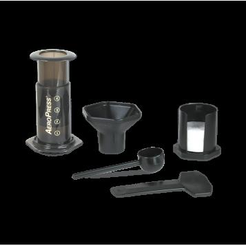 Aeropress set (filtre + cuillère + sac)