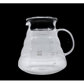 Carafe en verre 800 ml V60 - Hario